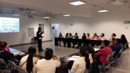 Cuarto curso basico de proteccion civil a madres cuidadoras de guarderias de campos agrícolas