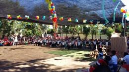El Area de Responsabilidad Social esta de Fiesta Festejando a los niños del Campo La Flor