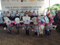 Feria de Apoyos y Servicios para la atención a Jornaleros Agrícolas.