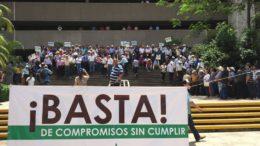 Manifestastación Pacifica Apoyando a Nuestros Productores AARC 2016