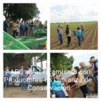 Personal AARC en Salida Campo con productores de Labranza de Conservación