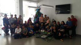 AARC con trabajadores Sociales de Agrícolas en Convivió Previo a Navidad 2016 y Año Nuevo 2017. Felices Fiestas!.