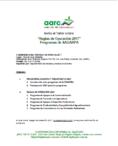 """AARC Invita """"Taller Reglas de Operación SAGARPA"""""""
