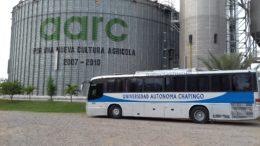 Visita de Universidad Autónoma de Chapingo en Bodegas Navolato (La Costa)