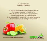 Misa con motivo del día de Agricultor este Lunes 24 de Junio a las 12:00pm en el templo de Nuestra Señora de Guadalupe (lomita),