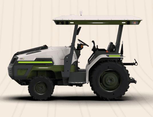 Llegan tractores eléctricos al campo