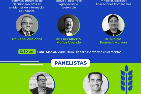Se discute sobre innovación y agricultura digital para Sinaloa en Simposium de Agrotech
